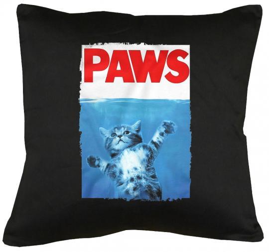 Paws Cat Kissen mit Füllung 40x40cm