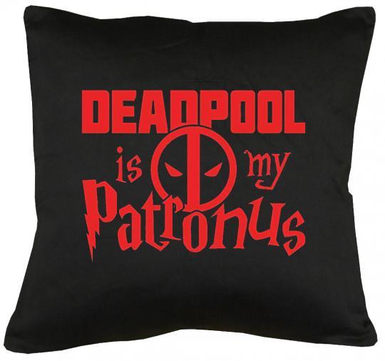 Deadpool is my Patronus Kissen mit Füllung 40x40cm