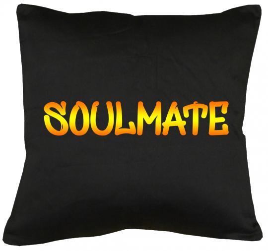 Soulmate Kissen mit Füllung 40x40cm