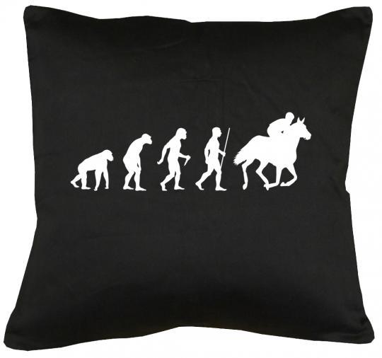 Evolution Pferd Kissen mit Füllung 40x40cm