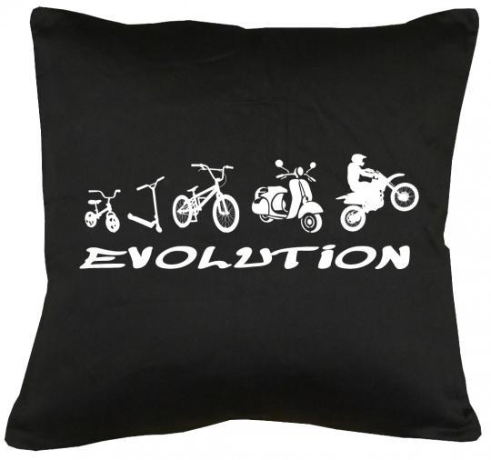 Evolution Zweirad Kissen mit Füllung 40x40cm