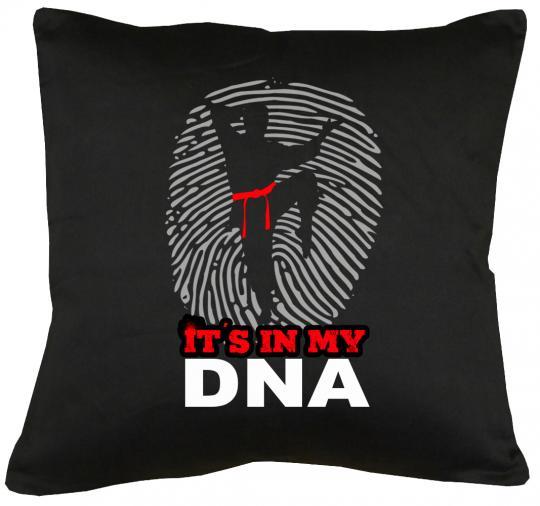 Karate is my DNA Kissen mit Füllung 40x40cm