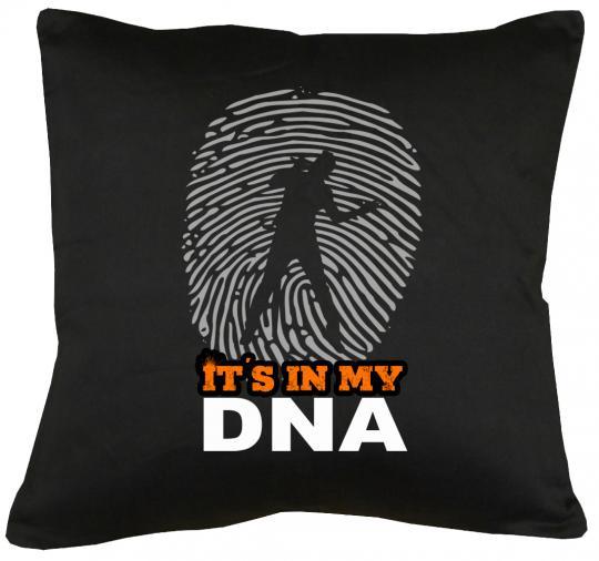 Sänger is my DNA Kissen mit Füllung 40x40cm